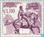 Postage Stamps - Italy [ITA] - Giuseppe Garibaldi