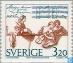 Postage Stamps - Sweden [SWE] - Johan Helmich Roman,
