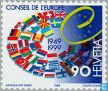 Postage Stamps - Switzerland [CHE] - 50 years of Council of Europe