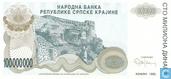 Serbische Krajina 100 Millionen Dinara