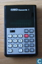Calculators - MBO - MBO Concorde I