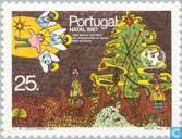 Postage Stamps - Portugal [PRT] - Children's paintings