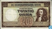Banknotes - Monarchy of the Netherlands - 20 guilder Netherlands 1945