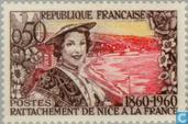 Postage Stamps - France [FRA] - Nice and Savoie in France 100 years