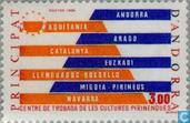 Postage Stamps - Andorra - French - Pyrenees culture