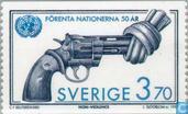 Timbres-poste - Suède [SWE] - 50 ans de l'ONU