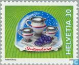 Postage Stamps - Switzerland [CHE] - Snow Globes