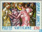 Postage Stamps - Vatican City - All Hallows