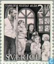 Postage Stamps - Sweden [SWE] - King Carl XVI Gustav-40th anniversary