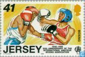 Timbres-poste - Jersey - anniversaires sportifs