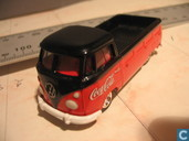 Model cars - Johnny Lightning - Volkswagen Transporter T1 'Coca Cola'