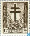 Postage Stamps - Belgium [BEL] - Cross of Lorraine, and Dragon