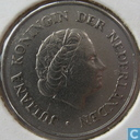 Coins - the Netherlands - Netherlands 25 cents 1958