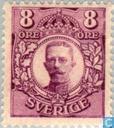 Timbres-poste - Suède [SWE] - 8 violet