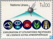 Postage Stamps - United Nations - Geneva - UNISPACE '82 conference