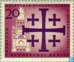 Postage Stamps - Berlin - Evangelical varied music