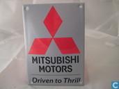 Emaille Reklamebord : Mitsubishi
