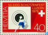 Postage Stamps - Switzerland [CHE] - Rifle Lucerne