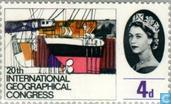 Postage Stamps - Great Britain [GBR] - Geographical Congress