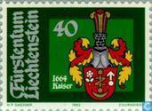 Timbres-poste - Liechtenstein - L'héraldique