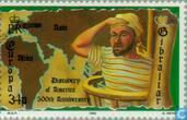 Postzegels - Gibraltar - Europa – Ontdekking van Amerika