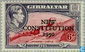 Postage Stamps - Gibraltar - New Constitution