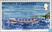 Postzegels - Guernsey - Reddingsdienst 1824-1974