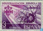 Postage Stamps - Spain [ESP] - Spanish industrialization