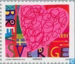 Timbres-poste - Suède [SWE] - Valentin
