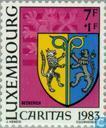 Postzegels - Luxemburg - Gemeentewapens