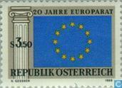 Postzegels - Oostenrijk [AUT] - 20 jaar Raad van Europa