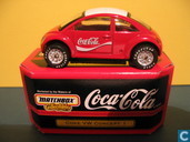 "Model cars - Matchbox Int'l Ltd. - Volkswagen New Beetle Concept ""Coca Cola"""