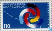 Postage Stamps - Germany, Federal Republic [DEU] - European Saar-Lor-Lux