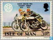 Postage Stamps - Man - TT Races 1923-1973