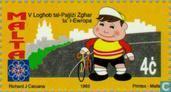 Briefmarken - Malta - Spielen kleinen europäischen Staaten