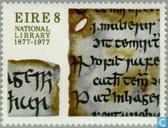 Postzegels - Ierland - Nationale bibliotheek