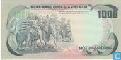 Banknoten  - Ngan Hang Quo ´c Gia Viët Nam - Süd-Vietnam Dong 1000