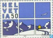 Postage Stamps - Switzerland [CHE] - Comics
