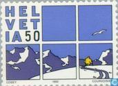 Briefmarken - Schweiz [CHE] - Comics