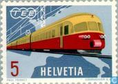 Postage Stamps - Switzerland [CHE] - Initial TEE train
