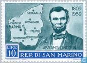 Timbres-poste - Saint-Marin - Lincoln. Abraham