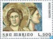 Timbres-poste - Saint-Marin - Giotto