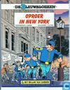 Strips - Blauwbloezen, De - Oproer in New-York