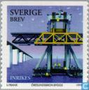 Postage Stamps - Sweden [SWE] - Construction Öresund bridge
