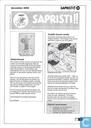 Bandes dessinées - Sapristi!! (tijdschrift) - 25, december 2002