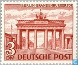 Briefmarken - Berlin - Gebäude in Berlin