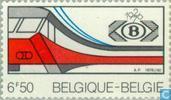 Briefmarken - Belgien [BEL] - SNCB/N.M.B.S. 1926-1976