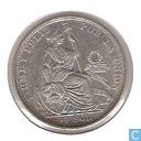 Monnaies - Pérou - Pérou ½ sol 1907