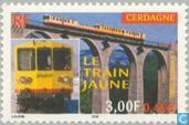Postage Stamps - France [FRA] - Yellow Train Cerdagne