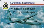 Vliegbasis Eindhoven, prettige feestdagen '95